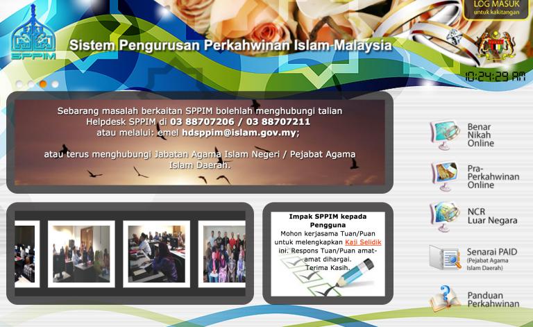 Borang Nikah Online